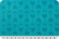 Embossed Arrows - Teal