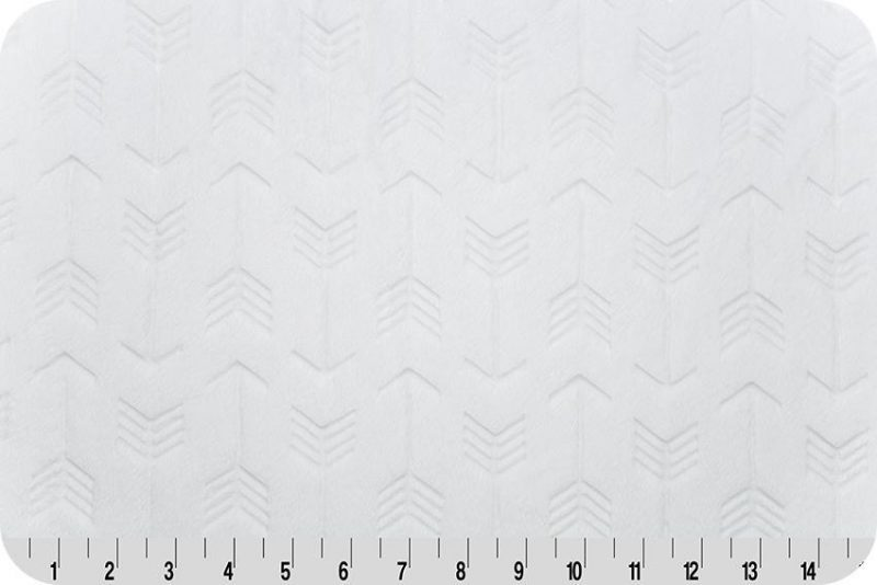 Embossed Arrows - White