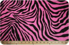 Zebra - Hot Pink & Black
