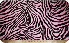 Zebra - Pink & Black