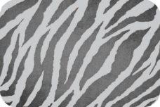 Zebra - Charcoal & Silver