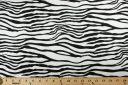Zebra Polished Stretch Twill