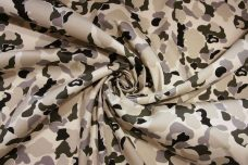 Neutral Camo Stretch Twill