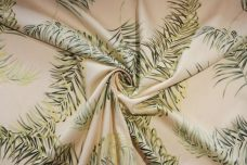 Palm frond Cotton Poplin