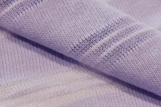 Light Periwinkle Tissue Stripe Sweater Knit