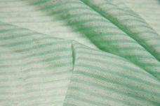 Mini Seafoam Stripe Tissue Knit