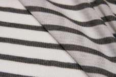 Ash & White Stripe Tissue Thermal