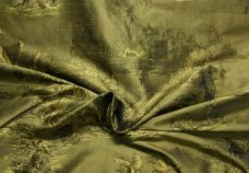 Gold & Black Toile Duponi Silk