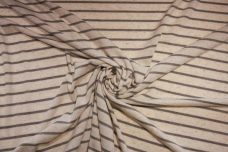 Parchment & Grey Large Pinstripe Knit