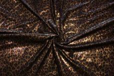 Metallic Cheetah Faux Suede