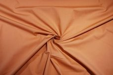 Stretch Poplin - Creamsicle
