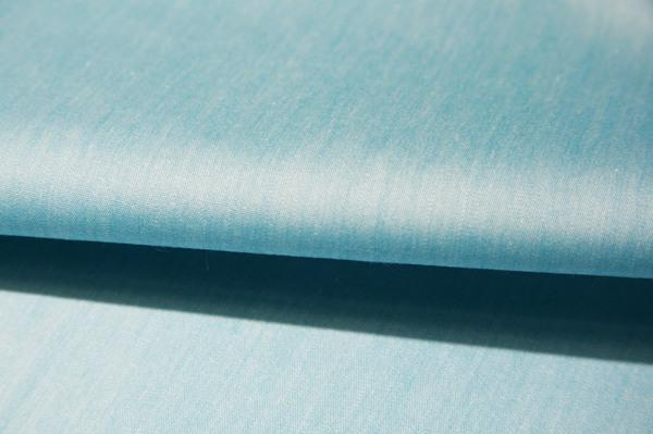 Chambray Stretch Poly/Cotton Poplin - Turquoise