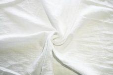 Crepe Gauze - White