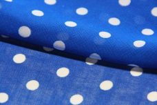 Medium Polkadot Chiffon - Royal