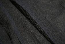 Crepe Gauze - Black