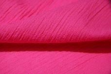 Crepe Gauze - Hot Pink