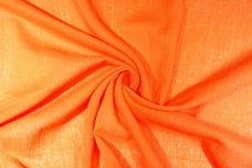 Crepe Gauze - Orange