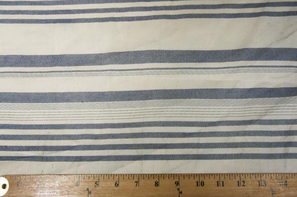 Lightweight Poly/Cotton Stripe - Denim