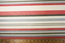 Lightweight Poly/Cotton Stripe - Americana