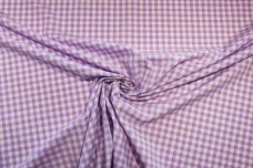 """1/4"""" Gingham Poly/Cotton - Violet"""