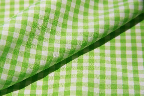 "1/8"" Gingham Poly/Cotton - Lime"