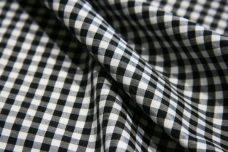 "1/8"" Gingham Poly/Cotton - Black"