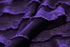 Ruffle Knit - Royal Purple