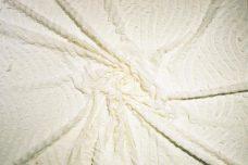 Cutout Ruffle Knit - Eggshell