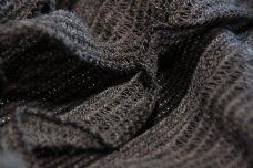 Jumbo Ruffle Knit - Black & Grey