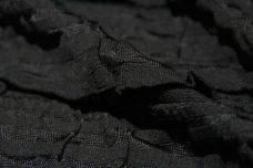 Jumbo Ruffle Knit - Black